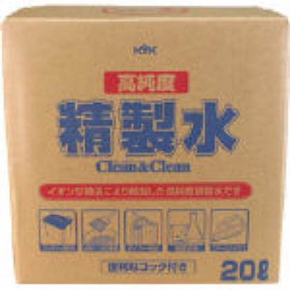 KYK 高純度精製水クリーン&クリーン20L 300 x 300...