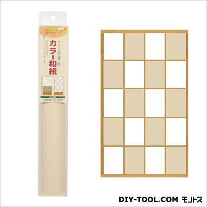 大直 インテリア障子紙カラー和紙 きなり 28cm×3...