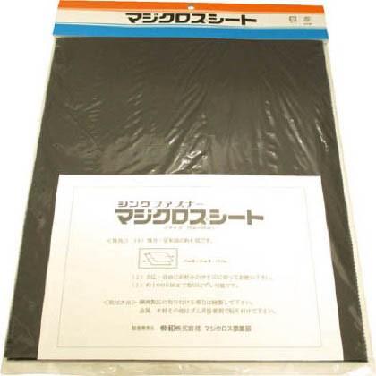 Shinwa マジクロスシート 黒 サイズ25X30cm...