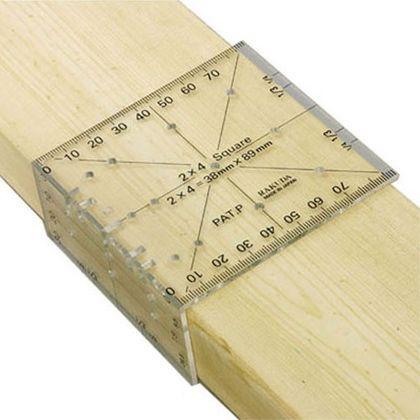 ラクダ | Rakuda ツーバイフォー定規(2×4木材用)...