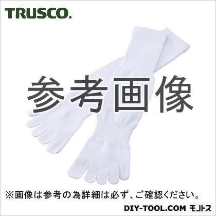 トラスコ(TRUSCO) 軍足5本指4足組ホワイト 264 x ...
