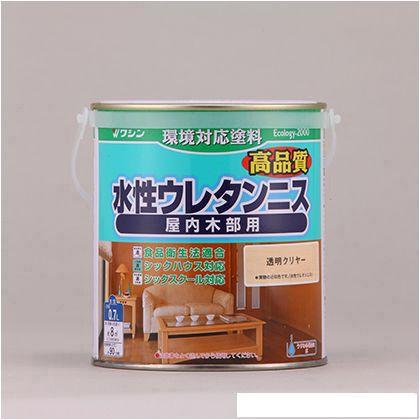 和信ペイント 水性ウレタンニス 0.7L     透明ク...
