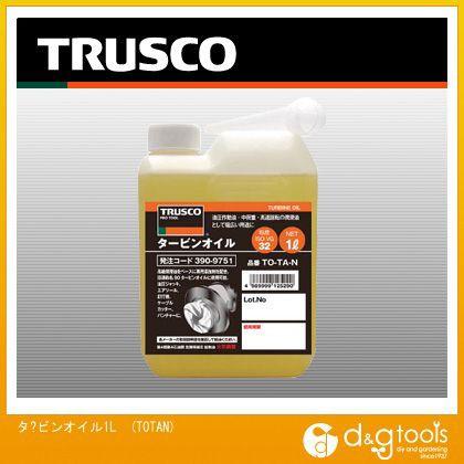 トラスコ(TRUSCO) タービンオイル1L 123 x 65 x 2...