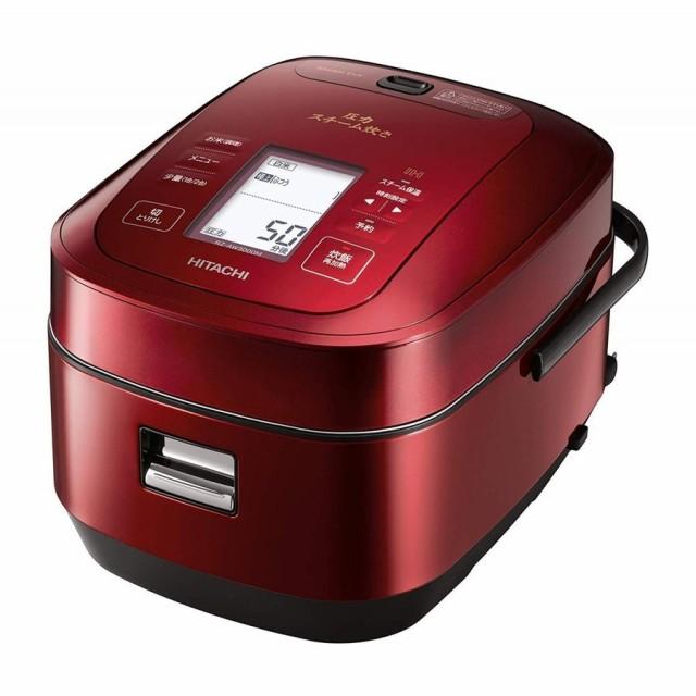 日立 圧力&スチームIHジャー炊飯器(5.5合炊き)...