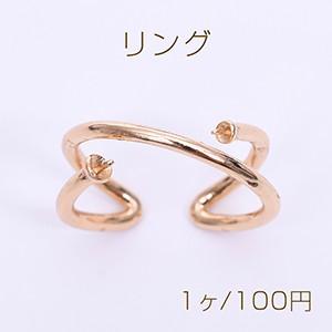 リング 指輪 デザインリング 両側芯立付き【1ヶ】...