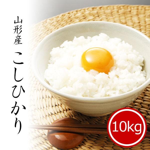 米 10kg コシヒカリ 山形県産 お米 10kg  送料無...