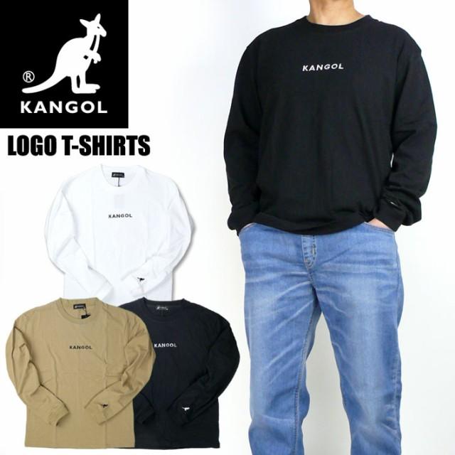 KANGOL カンゴール 長袖Tシャツ ワンポイント ロ...