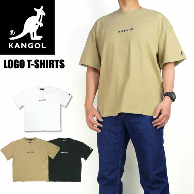 KANGOL カンゴール 半袖Tシャツ ワンポイント ロ...