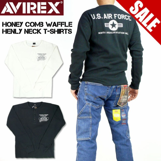 セール AVIREX アビレックス メンズ Tシャツ ハニ...