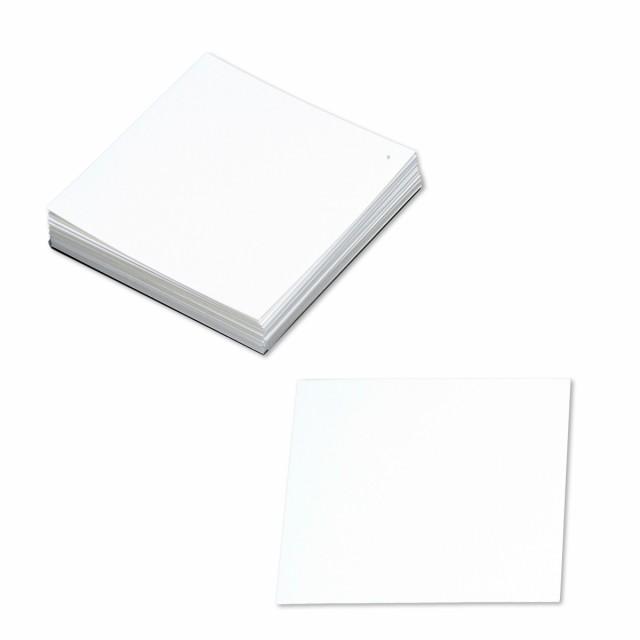 正方形マルチプルカード 100mm角 100枚組 上質紙