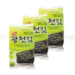 光天 味付けのり, 韓国味付のり (8切8枚×3袋) 韓...