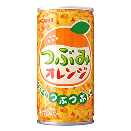 サンガリア  つぶみオレンジ 190g