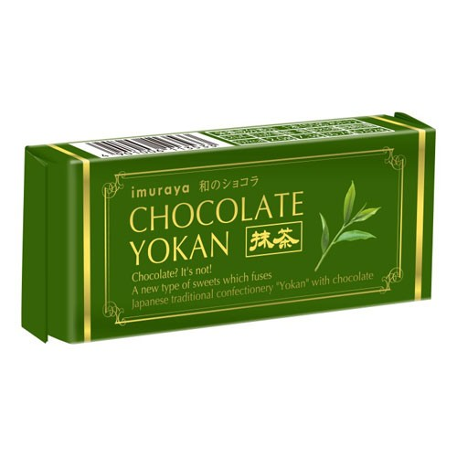 井村屋 チョコレートようかん 抹茶 55g