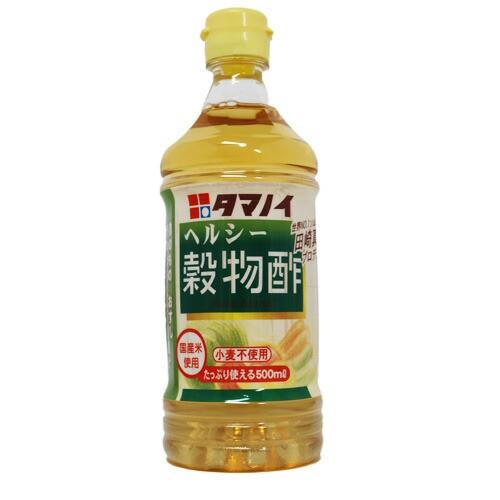 タマノイ酢 ヘルシー穀物酢 500ml PET