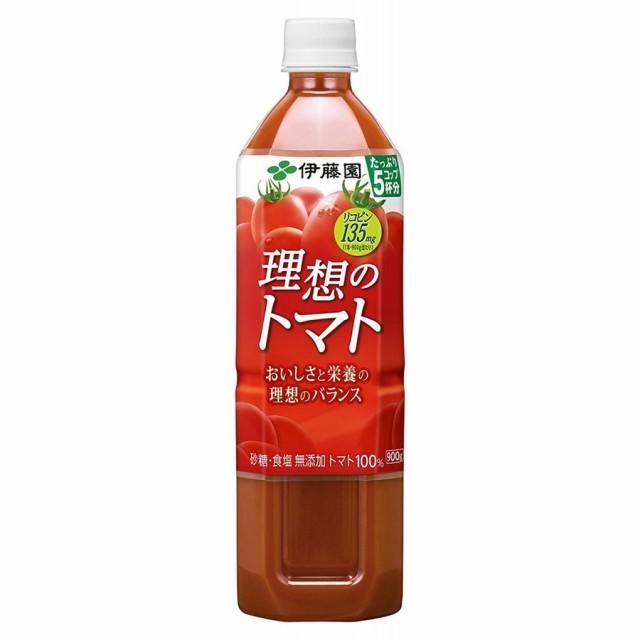伊藤園 理想のトマト 900ml×12本(1ケース)【...