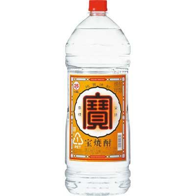 宝酒造 宝焼酎 25度 4000ml(4L)<ペット>1本