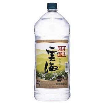 雲海酒造 雲海 そば 25度 4000ml 4L【ご注文は4...