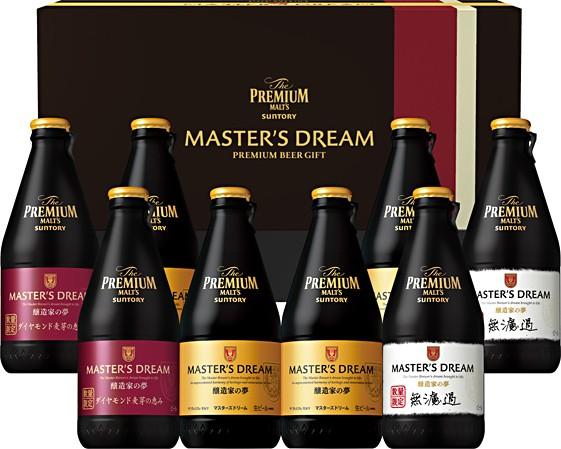 お中元 ギフト ビール 御中元 プレゼント 飲み比べ 送料無料 サントリー プレミアムモルツマスターズドリーム 夢の3種セット BMA3P 1セッ