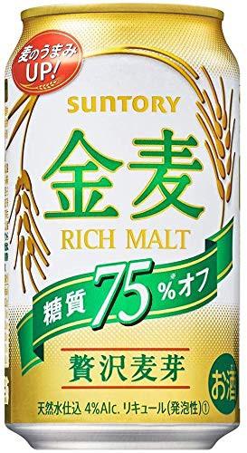 ビール サントリー 金麦 糖質75%オフ 350ml×24...