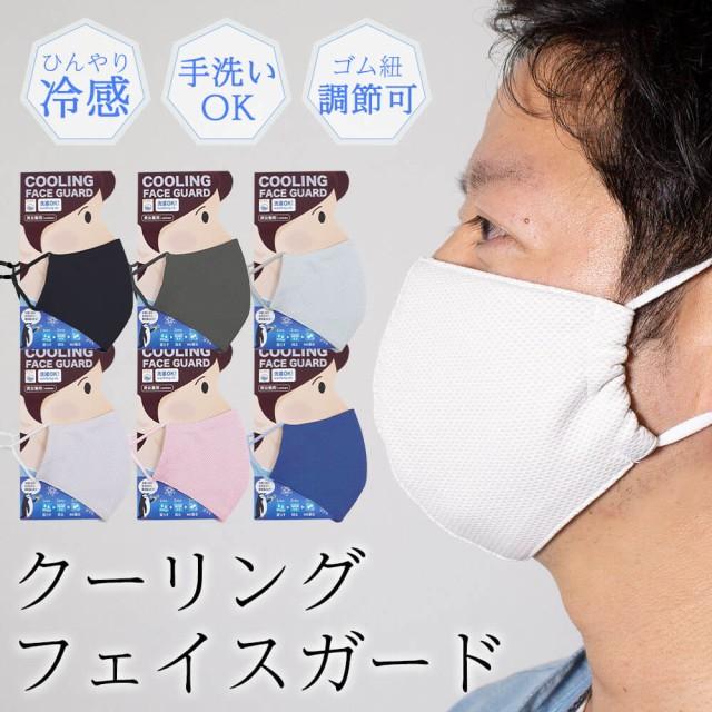 夏用 マスク 冷感 マスク  洗える 水分があれば何...