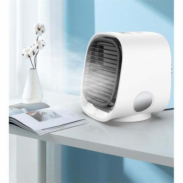 扇風機 小型クーラー 卓上クーラー ミニエアコン...