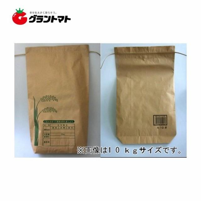 米袋 新袋印刷Aタイプ 5kg 2重構造の紙袋 王子製...