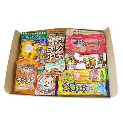 (メール便で送料無料) おかしのマーチ 駄菓子セッ...