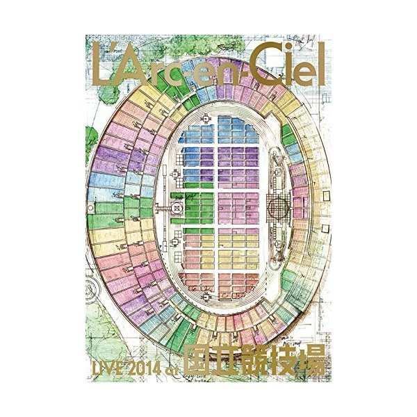 中古:L'Arc~en~Ciel  LIVE 2014 at 国立競技場 ...