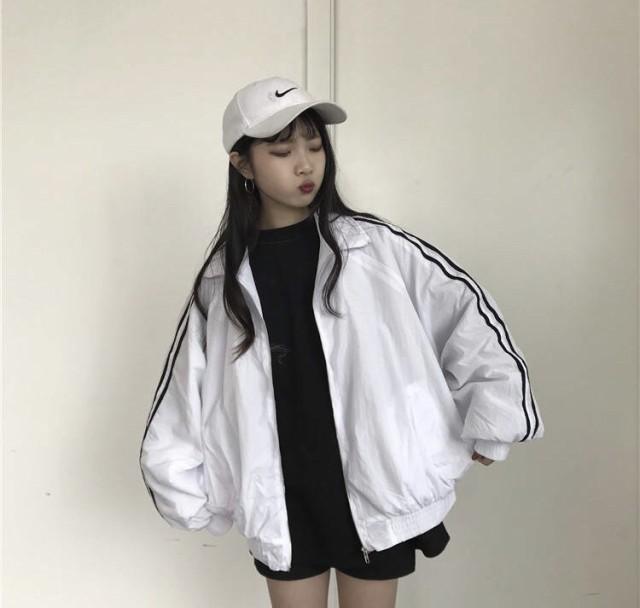 秋冬 アウター ジャンパー 韓国 オルチャン 春 ラ...