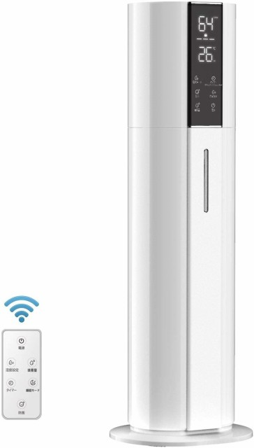 9L 超音波加湿器 WIFI スマホ アプリ操作 上から...