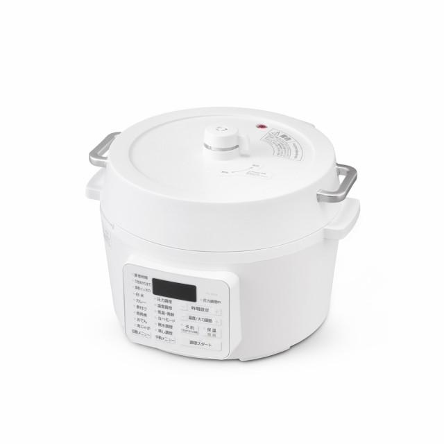 【在庫有】【即納】電気圧力鍋 PC-MA4-W 4.0L ホ...