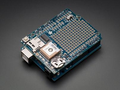 ArduinoコンパチGPSロッガーシールド