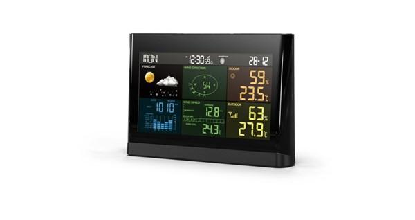5in1警告アラート付プロ用ワイヤレス天候計測器 X...