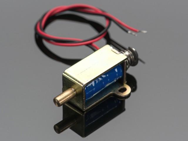 小型push-pullソレノイド-12Vdc