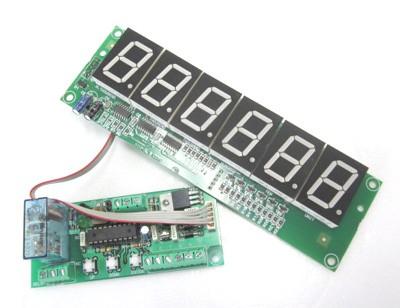 999999表示7セグUP/DOWNカウンターモジュール+リ...