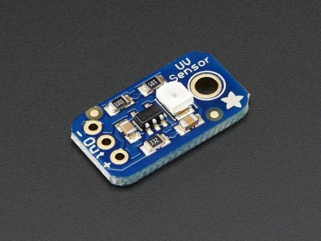 アナログUVライトセンサー基板-GUVA-S12SD