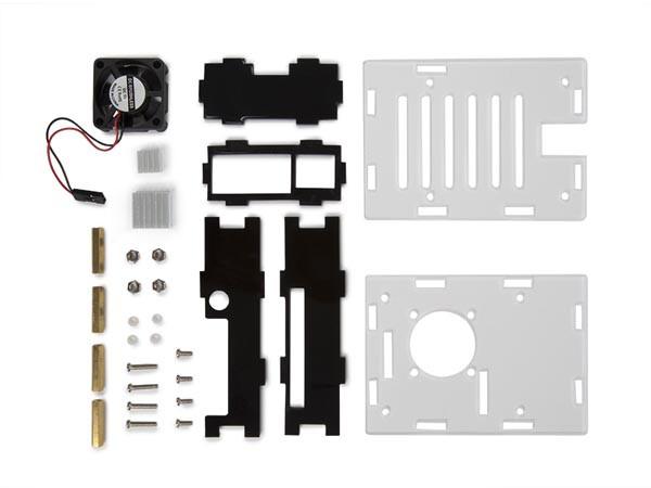 PASPBERRY PI4用透明ケース+冷却システム VMP506