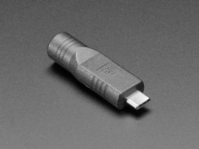 DCジャック5.5x2.1mm→USB C変換アダプター