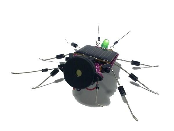 電子工作キット(ソーラーコオロギ) WSAK185