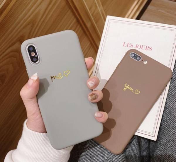 カップル スマホケース iPhoneXR iPhoneXS Max ケ...