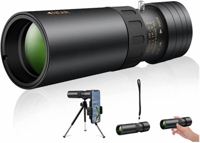 単眼鏡 望遠鏡 【2021最新金属版】 10-100x40 HD...