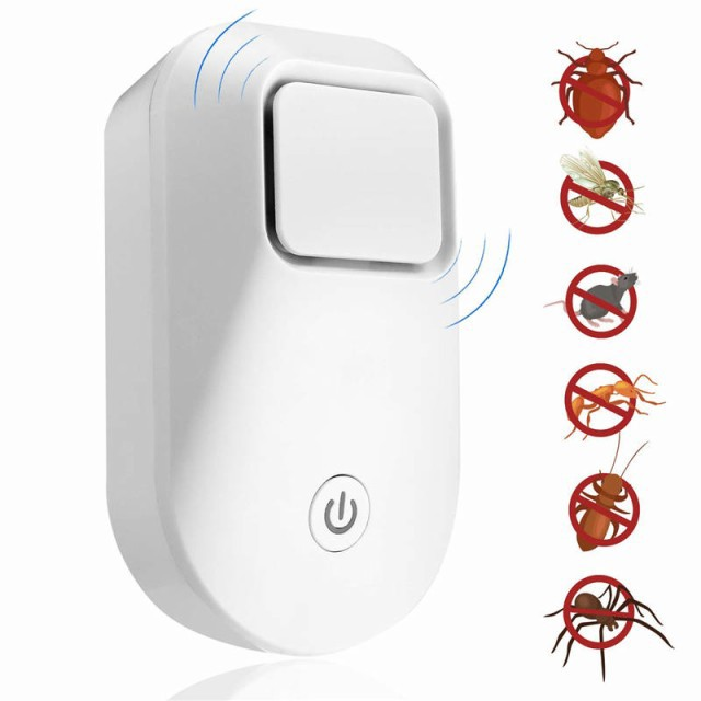 【2021年最新版】ネズミ駆除 蚊取り器 超音波 擬...
