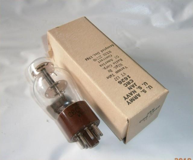 3極管 RCA 1626 軍箱入り