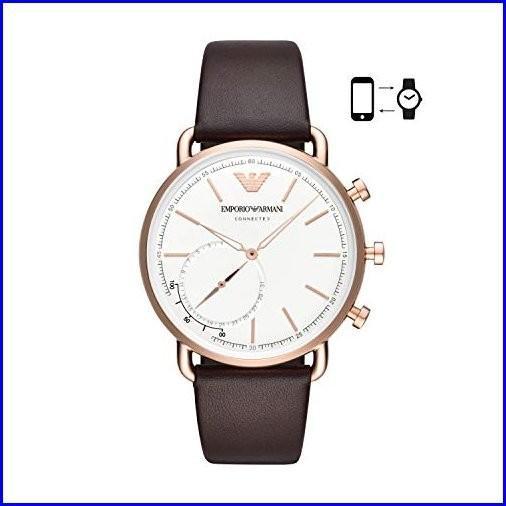 Emporio Armani Mens Hybrid Smartwatch Quartz S...