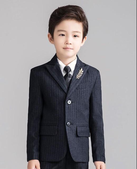 キッズスーツ タキシードスーツ 男の子スーツ お...