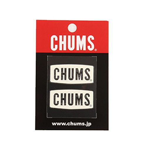 チャムス CHUMS Logo Emboss Sticker White (CHUM...