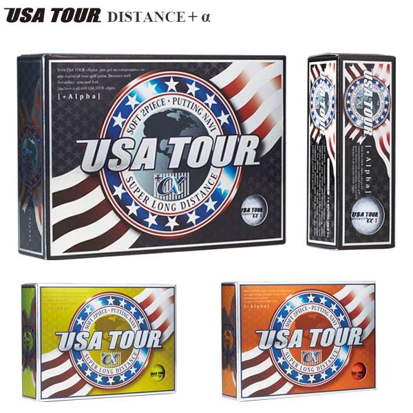 USA TOUR ディスタンス +α ゴルフボール 1ダー...