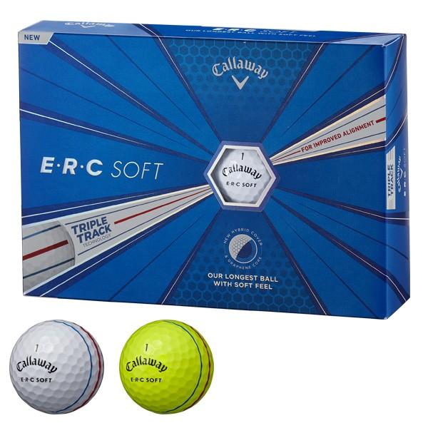キャロウェイ E・R・C SOFT ERCソフト ゴルフボ...