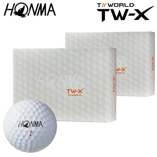 本間ゴルフ TOUR WORLD TW-X ゴルフボール 2ダ...