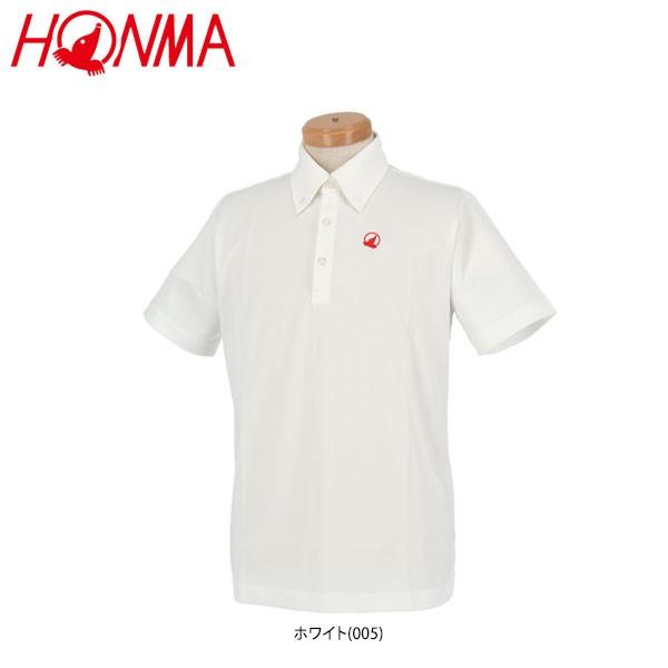 [83%OFF] 本間ゴルフ メンズ ロゴ刺繍入り 半袖 ...